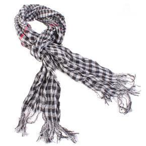 Bílý kostkovaný šátekt Lott D7