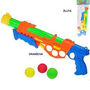 Pistole 48cm 2v1 na vodu i na kuličky Fairy