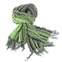 Luxusní šátek Karolin zelený C1