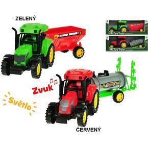 Traktor s vlečkou se světlem a zvukem Silvio