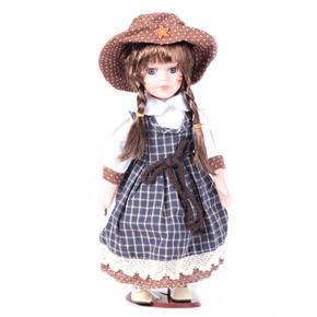 DOLL porcelánová panenka Fina 30 cm