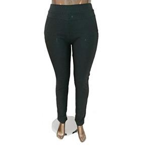 Moderní kalhotové legíny Dakota černé