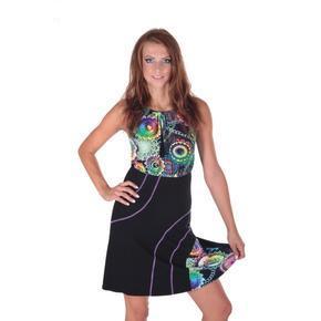 Letní šaty Meriel se zavazováním za krk