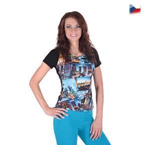 Dívčí tričko Baily s moderním potiskem