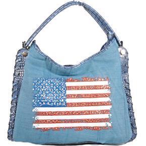 Stylová modrá kabelka Tomas 3D