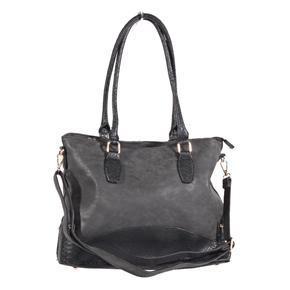 Luxusní černá kabelka do ruky Prokop 5A