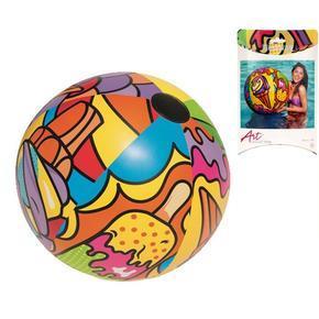 Barevný nafukovací míč 91cm Sandra