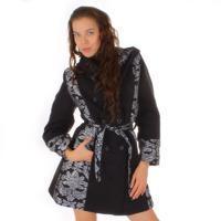Extravagantní zimní kabát Brigit