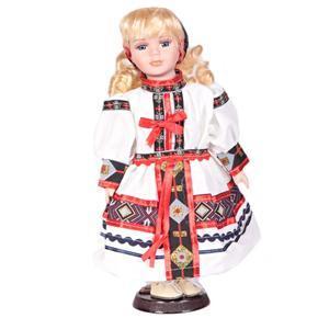 DOLL porcelánová panenka v kroji Uma 30cm