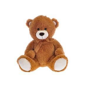 Medvěd plyšový 40cm sedící Mia sv. hnědý