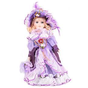 DOLL porcelánová panenka Audrey 30 cm