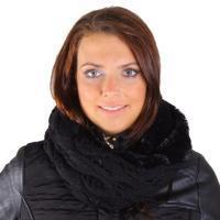 Trendy zimní nákrčník Becky černý G1