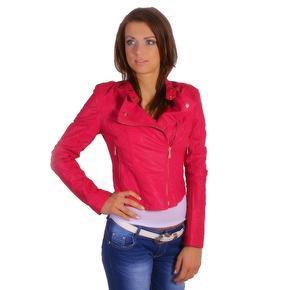 Dámská bunda Diana tmavě růžová