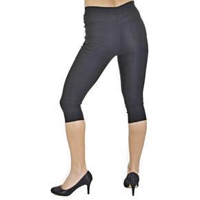 Kalhotové legíny Megan černé