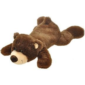 Plyšový medvěd ležící 63cm Denis