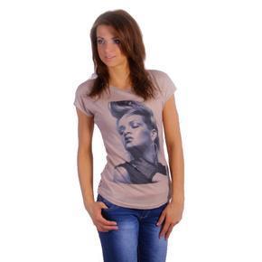 Krajkové tričko Merlin krémové