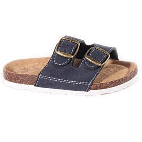Dětské korkové pantofle Alex modré