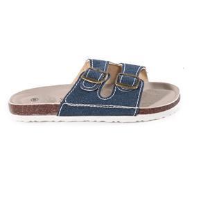Pánské korkové pantofle Horst modré