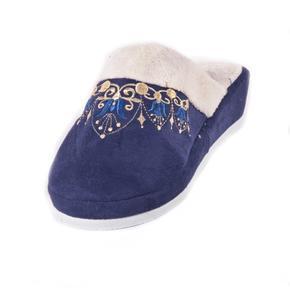 Dámské bačkory na klínku Helen modré