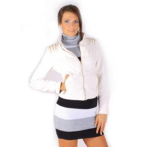 Dívčí koženková bunda Tifany