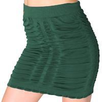 Zelená elastická sukně Helen