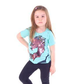 Měnící dívčí tričko Danica