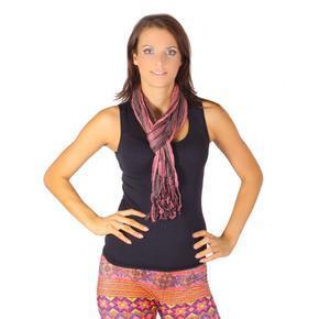 Moderní šátek Helen růžový B4