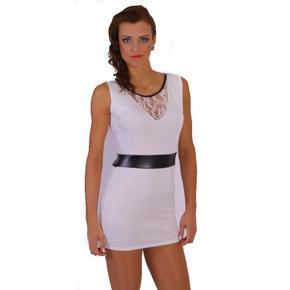 Extravagantní šaty Elisabeth bílé