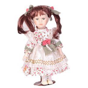 DOLL porcelánová panenka Roberta 30cm