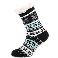 Dámské domácí zimní ponožky A3d CB 35-38
