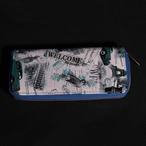 Dámská peněženka s moderním potiskem Bloss