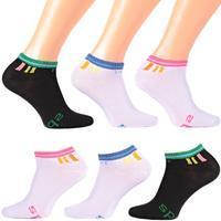Dámské bambusové ponožky D5c BW