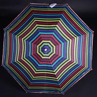 Pruhovaný deštník Dora barevný