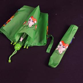 Skládací dětský deštník Samson světle zelený