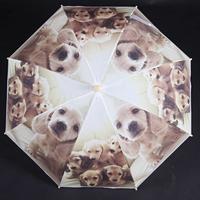 Dětský vystřelovací deštník Tory béžový