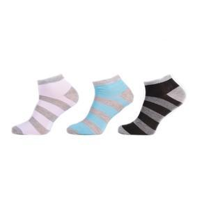 Pruhované pánské nízké ponožky H7a M
