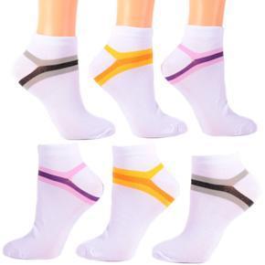 Bílé dámské ponožky D3c CB 39-42