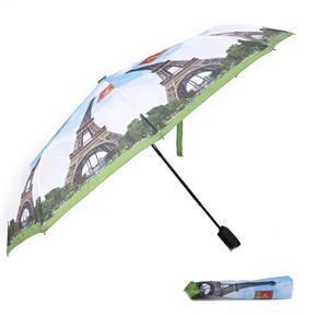 Malý skládací deštník Miles motiv Eiffelova věž