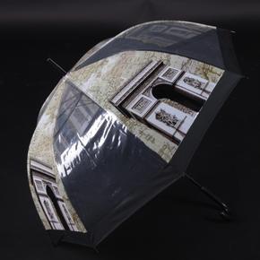 Průhledný vystřelovací deštník Michael