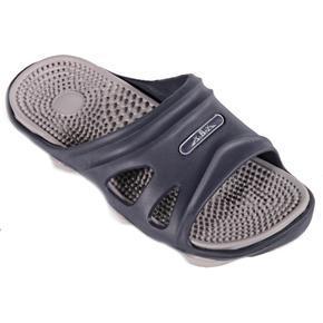 Pánské gumové pantofle Tomas šedé