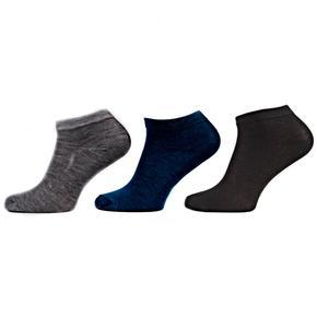 Pánské jednobarevné kotníkové ponožky F5b SG
