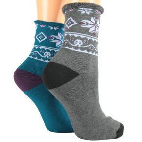 Zdravotní zimní ponožky A2a modré