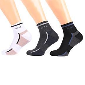 Pánské kotníkové zimní ponožky I8a BW