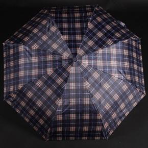 Pánský skládací deštník Alan modrý