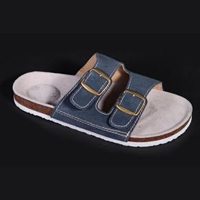 Pánské korkové pantofle Tom modré