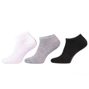 Pánské jednobarevné kotníkové ponožky E8b