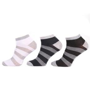 Pruhované pánské nízké ponožky H7a CB