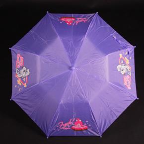 Skládací dětský deštník Samson fialový