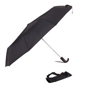 Luxusní pánský černý deštník Pietro