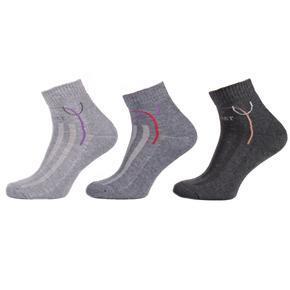 Dámské zimní kotníkové ponožky D6a SG 35-38